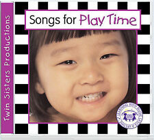 Songs for Playtime CD Twin Sisters Productions MUSIC CD