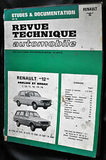 Revue technique automobile Renault 12 L-LN-TL-TN-TR-TS n° 3522