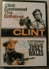The Enforcer / The Outlaw Josey Wales (DVD, 2 x film set) Brand new not sealed.