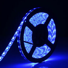 Blue 5M Flexible Led Strip 3528 SMD 12V DC 300 Leds Leds String Light lamp