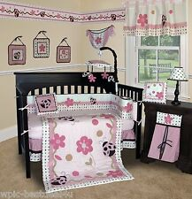 Baby Boutique - Ladybug - 13 pcs Crib Bedding Set