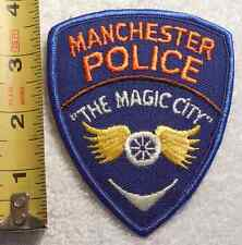 MANCHESTER GEORGIA POLICE PATCH (HIGHWAY PATROL, STATE POLICE, SHERIFF)