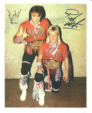 m458  Rock and Roll Express signed wrestling 8x10 w/COA