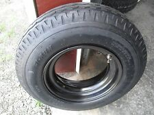 1 New 8x14.5 Hi-Run Trailer Tire and Mobile Home Wheel 14 Ply 814.5 8 14.5