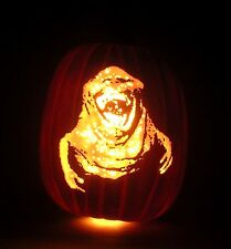 30th Anniversary GHOSTBUSTERS Slimer Hand-Carved Foam Pumpkin 12""