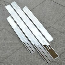 Stainless Steel High Quality Door Sill Scuff Plate For Volkswagen Passat 2012-15