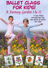 Ballet Class for Kids!: A Fantasy Garden I & II (DVD, 2013)
