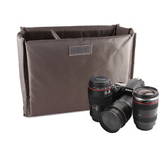 Folding Partition Padded Insert Camera Case For Canon EOS 1000D 1100D 40D