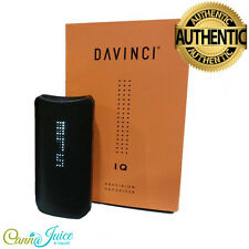 DaVinci IQ Advanced Portable Vaporizer ❤ Black ❤ ☆ 100% Genuine ☆ UK Stock ☆