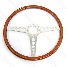 Jaguar Series 1 (1961-1971) - XKE - E-Type - 15 Inch Steering Wheel - Chrome