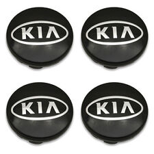 Set 4 04-13 Kia Forte Spectra Rio Sephia 52960 2F000 Wheel Center Caps Hubcaps