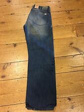 "Big star loose fit jeans (dean) denim vintage/20"" base - 34/34 fold fade"