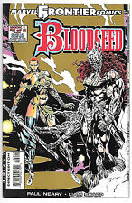 Bloodseed #2 (Marvel UK 1993, vf 8.0) Liam Sharp art - gold card covers