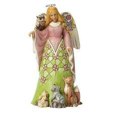 Jim Shore Heartwood Creek Spirit of Spring Woodland Angel Figurine New 4040547