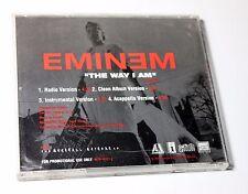"""EMINEM """"The Way I Am"""" RARE PROMO MAXI CD 4 Mixes Acapela INSTRUMENTAL~  $8.98"""