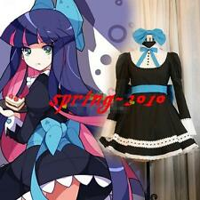 Panty&Stocking With Garterbelt Meidofuku Maid Dress Uniform Cosplay Costumes