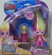 The zelfs series 6 ~ miss terri ~ cristal souhaits theme pack ~ moyen zelf figurine