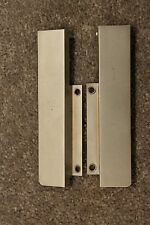 Revox B-77 Reel to Reel deck parts - lower case aluminum brackets - pair