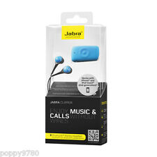 Jabra CLIPPER Bluetooth Wireless Stereo Headset - Retail - Blue (Turquoise)