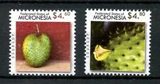 Micronesia 2010 MNH Fauna Flora High Val Definitives 2v Set Soursop Fruit Stamps