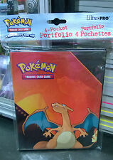Pokemon Charizard 4 Pocket Page Portfolio Album Binder Holder Card Protector New