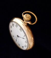 New York Standard Pocket Watch 16 size no 94 Running Art deco numbers on dial