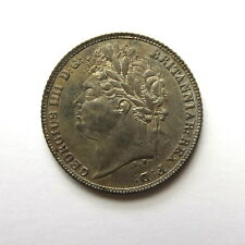 ** George IV Silver Sixpence 1821AD NEF**