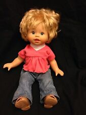 2001 Fisher Price Little Mommy Talking Baby Doll GUC