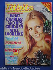 Titbits Magazine - Freddie Starr, Susan St James, Huw Davies      26th Dec. 81