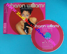 CD singolo Sharon Williams Life Is So Strong PROMO CARDSLEEVE no lp mc vhs(S30)