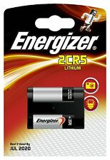 Energizer 2CR5 Lithium Photo Battery 6V DL245 1500 mAh