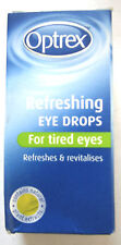 OPTREX REFRESHING EYE DROPS 10ml - FOR TIRED  EYES (ENGLISH STOCK)