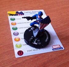 HeroClix Avengers #001 CAPTAIN AMERICA  MARVEL