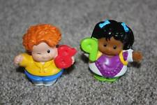 Fisher Price Little People Number 8 9 Kids Set Boy Girl Time to Learn Preschool