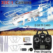 X5C-1 2.4Ghz 6-Axis Gyro RC Quadcopter Drone UAV RTF UFO with cámara HD HOT