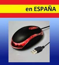 RATON OPTICO LED con cable 3D por USB para ordenador portatil laptop mice mouse