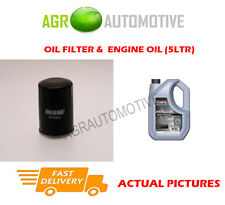 PETROL OIL FILTER + SS 10W40 ENGINE OIL FOR TOYOTA STARLET 1.0 54 BHP 1989-92