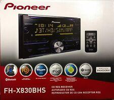 Pioneer FH-X830BHS CD RDS Receiver AUX/USB/BT/SiriusXM/HD Radio