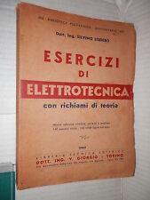 ESERCIZI DI ELETTROTECNICA richiami di teoria Silvino Lisdero Libreria Tecnica
