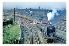 gw0225 - British Railway Engine 92057 at Doncaster in 1956 - photograph