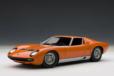 Lamborghini Miura SV, Orange, 1:18TH Scale AutoArt 74542