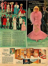 1967 ADVERT Barbie Pink Fashion Outfit Francie Ken Skipper Scooter Skooter Gift
