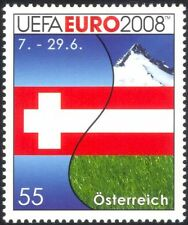Austria 2008 EURO 2008 Football Championships/Flags/Mountains/Soccer 1v (at1078)