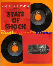 LP 45 7'' JACKSONS State of shock Your ways MICK JAGGER MICHAEL cd mc dvd vhs