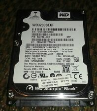 "Western Digital Scorpio Black 320GB  7200RPM 2.5"" SATA Hard Drive"