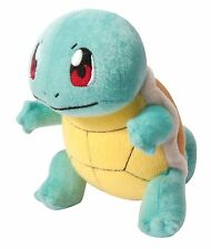 """Pokemon SQUIRTLE Authentic X & Y OFFICIAL TOMY Licensed 8"""" Plush w/Tags"""