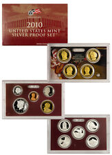 2010 United States US Mint 14 pc Silver Proof Set SKU22296