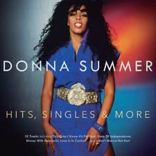 Hits Singles & More - Donna Summer (2015, CD NEUF)2 DISC SET