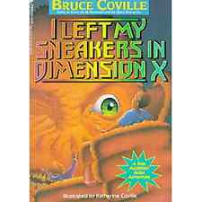 NEW I Left My Sneakers in Dimension X ▰ Bruce Coville 3rd Ptg A Minstrel Book 2