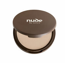 NUDE BY NATURE MINERAL PRESSED POWDER - LIGHT/MEDIUM 10G - make up powder